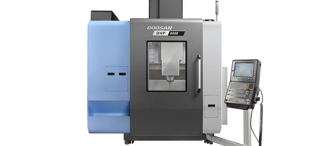Vertical 5-Axis Machining Centers DVF series