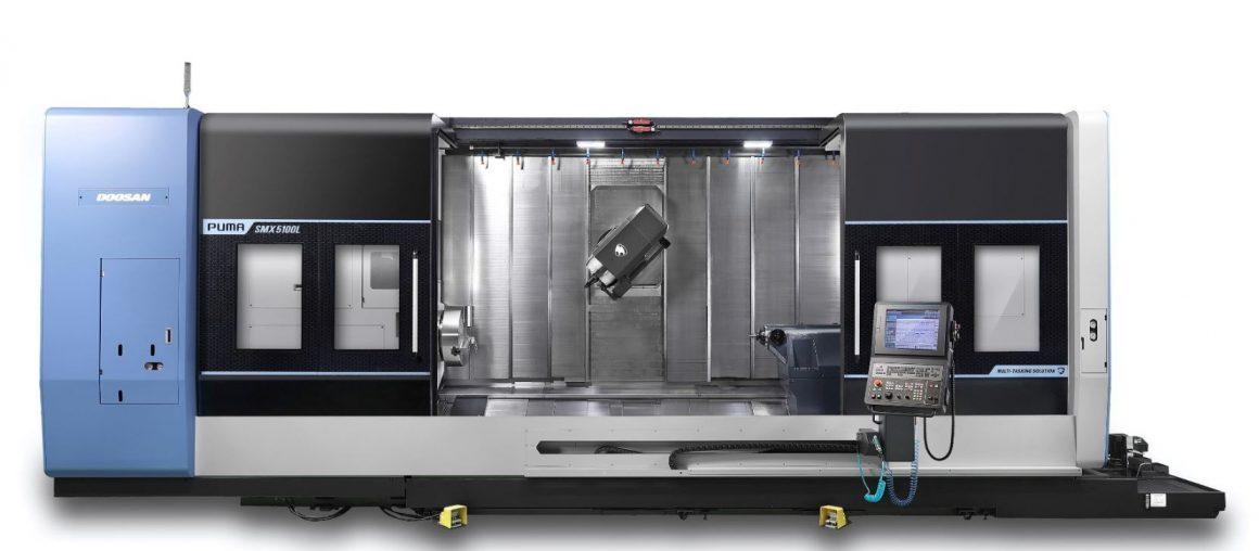 NEW! Doosan Puma SMX5100L CNC Multitasking l High performance