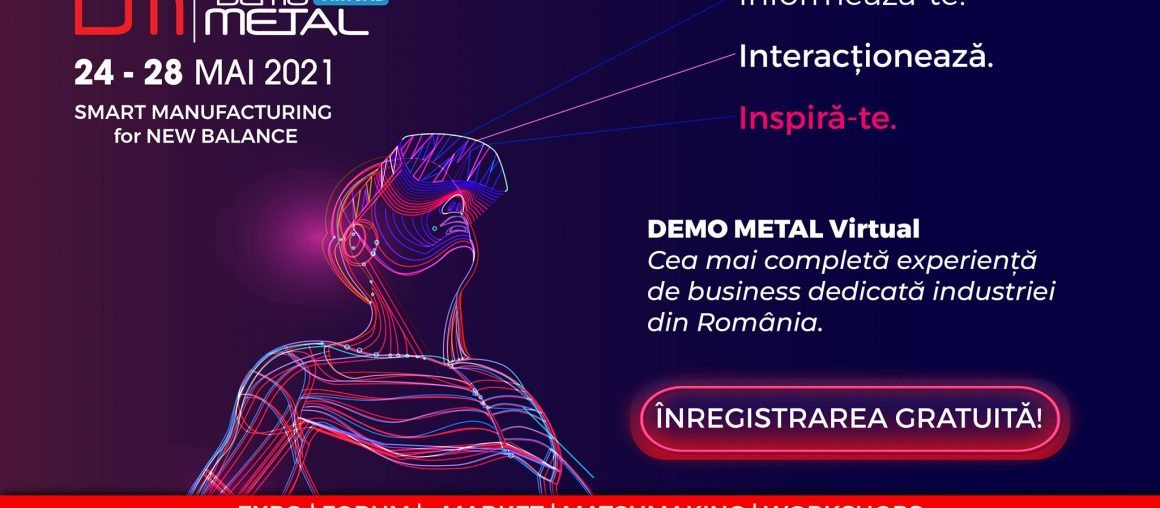 Ro-Mega Trade, la a doua ediție Demo Metal Virtual!​